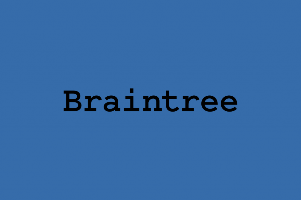 Braintree Cheapest way to Accept Credit Card Payments