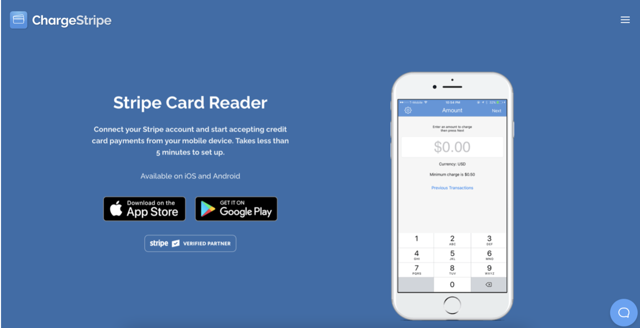 ChargeStripe best collecting payment software